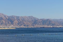 Eilat gulf Royalty Free Stock Photography