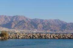 Eilat gulf Royalty Free Stock Photo