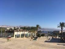 Eilat i december, Israel Royaltyfri Bild