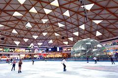 Eilat Ice Park and Mall in Eilat Israel Royalty Free Stock Photo