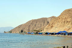 Eilat - Israel Arkivbilder