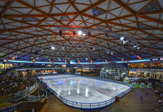 EILAT, ISRAEL - JUNE 15:  Ice Park in Eilat city Royalty Free Stock Photo