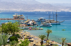 EILAT, ISRAEL - MAY 10, 2011 Royalty Free Stock Photography