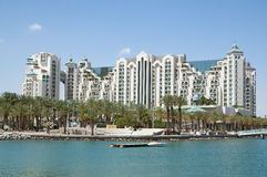 Eilat, Israel. View of Eilat city, Israel Royalty Free Stock Image