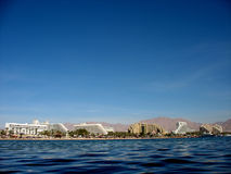Eilat Küste Stockbild