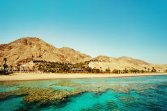 Eilat landscape. Israel. Royalty Free Stock Photo