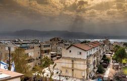 Eilat por el Mar Rojo Imagen de archivo