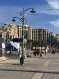 Eilat promenade. Beautiful Eilat promenade in Israel Royalty Free Stock Images