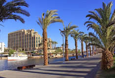Eilat - a resort on the Red Sea, Israel Stock Photo