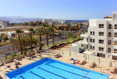 Eilat - a resort on the Red Sea, Israel Stock Images