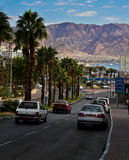 Eilat street view Royalty Free Stock Photography