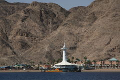 Between Eilat and Taba Royalty Free Stock Image