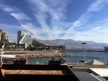 Eilatpromenade Royalty-vrije Stock Foto's