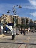 Eilatpromenade Royalty-vrije Stock Afbeeldingen