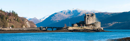 Eilean Donan城堡 库存照片