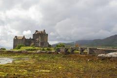Замок Eilean Donan, Шотландия Стоковые Фото