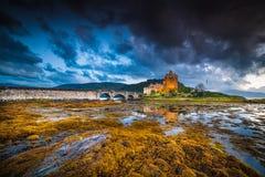 Eilean Donan Caste Royalty-vrije Stock Afbeeldingen