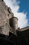 Eilean Donan Castle με τον ουρανό Στοκ φωτογραφία με δικαίωμα ελεύθερης χρήσης