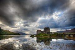 Eilean Donan Castle (Σκωτία) Στοκ εικόνα με δικαίωμα ελεύθερης χρήσης