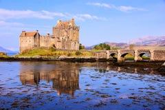 Eilean Donan Castle, Σκωτία Στοκ εικόνα με δικαίωμα ελεύθερης χρήσης