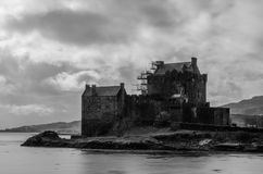 Eilean Donan Castle στη Σκωτία Στοκ φωτογραφία με δικαίωμα ελεύθερης χρήσης