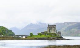 Eilean Donan Castle. Χάιλαντς της Σκωτίας Στοκ φωτογραφίες με δικαίωμα ελεύθερης χρήσης