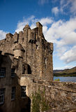Eilean Donan Castle. As one of the most iconic images of Scotland, Eilean Donan is recognised all around the world. Situated on an island at the point where royalty free stock images
