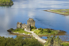 Eilean Donan Castle. Eileen Donan Castle Loch Duich Scotland Stock Photography