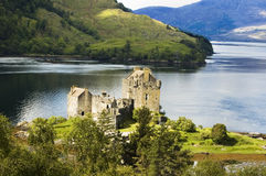 Eilean Donan Castle. Eileen Donan Castle on the shores of Loch Duich scotland stock image
