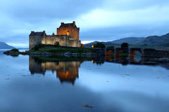 Eilean Donan castle Stock Photos