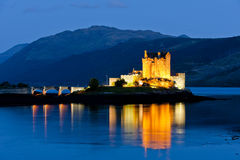 Eilean Donan Castle Στοκ φωτογραφίες με δικαίωμα ελεύθερης χρήσης