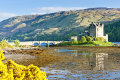 Eilean Donan Castle Royalty Free Stock Photos