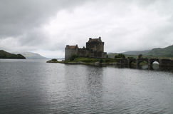 Eilean Donan Castle. In Scotland Royalty Free Stock Photography