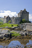Eilean Donan Castle. In Dornie near Kyle of Lochalsh in Scotland stock photo