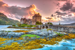 Free Eilean Donan Castle Royalty Free Stock Image - 57389296