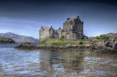 Eilean Donan Castle. A hdri photography of the Eilean Donan Castle in Scotland Stock Photo