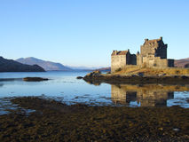 Eilean Donan Castle. In Scotland Stock Photo