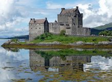 Eilean Donan Castle, Castle Royalty Free Stock Photography