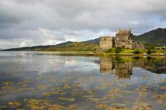 Eilean Donan Castle 2 de setembro de 2015 Fotografia de Stock Royalty Free
