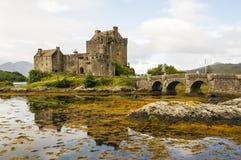 Eilean Donan Castle 2 de setembro de 2015 Imagens de Stock Royalty Free