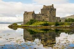 Eilean Donan Castle 2 de setembro de 2015 Fotografia de Stock