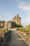 Eilean Donan Castle en el lago Duich en Escocia Fotos de archivo libres de regalías