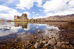 Eilean Donan Castle, Highland Scotland Royalty Free Stock Photos