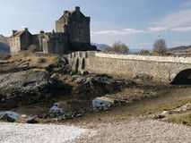 Eilean Donan Castle (highlander castle) Royalty Free Stock Images