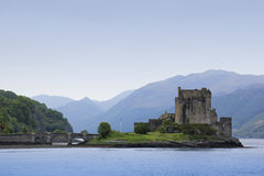 Eilean donan castle highlands of scotland Royalty Free Stock Photo