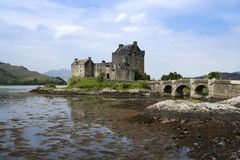 Eilean donan castle highlands of scotland Royalty Free Stock Photos