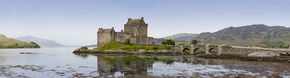 Eilean donan castle highlands of scotland Stock Images