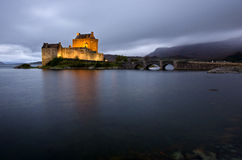Eilean Donan Castle. Highlands Scotland UK Royalty Free Stock Images