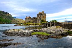 Eilean Donan Castle Royalty Free Stock Photo
