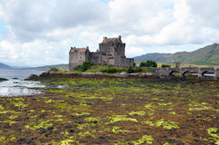 Eilean Donan Castle. The castle on the Eilean Donan island in the western Highlands of Scotland Stock Photos